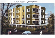 Lake View Apartment for Sale at Newtown, Kolkata