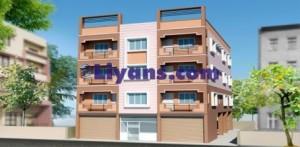 2bhk flats in north Kolkata