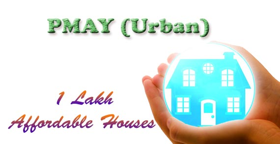Government Sanctions 1 lakh Urban Homes Under PMAY